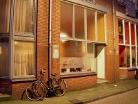 the unassuming front entrance to the FWBO's centre in Amsterdam