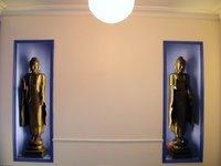 Shrine room at the Cardiff FWBO Center