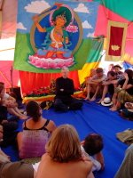 The Dharma Parlour at the 2006 Festival