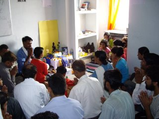 The inauguration of the new Centre premises in Delhi, July 2008