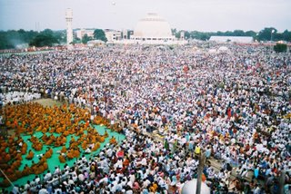 A glimpse of the massive Nagpur crowds at the anniversary of Dr. Ambedkar's conversion