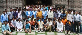The VIIth batch of students as they begin their studies at Nagaloka
