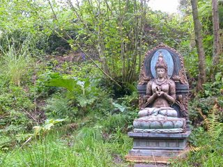 Prajnaparamita is at the centre of the Sanctuary created in her honour by Sagaravajra