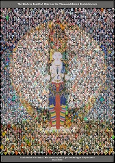 The Buddhist figure of the 'Thousand Armed Avalokitesvara' has for many years been taken as a symbol for the Order at its highest and best