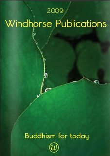Windhorse Publications 2009 catalogue, available from their blog