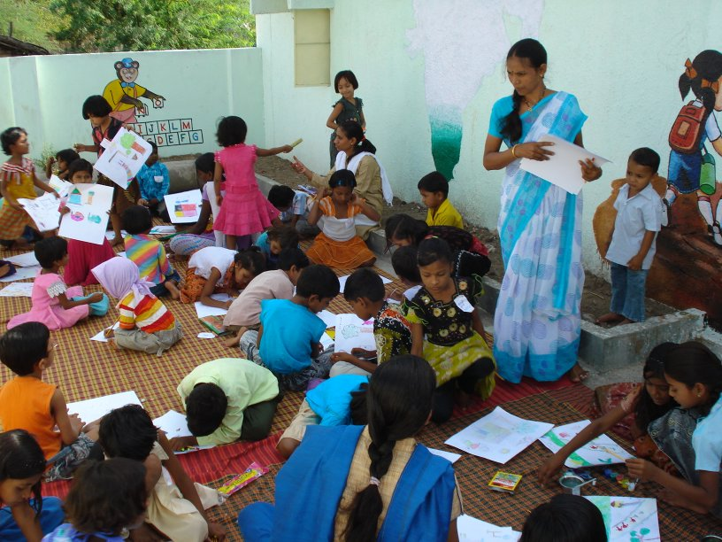 Triratna Buddhist Community News Children S Activities In Amaravati