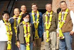 Visiting Taiwanese Buddhists with Lokamitra