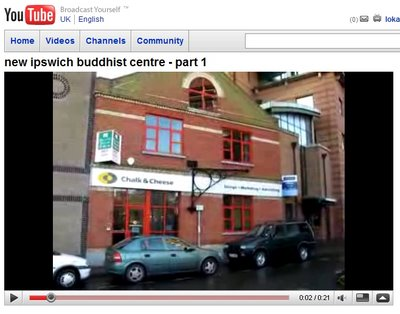 external view of the new Ipswich Buddhist Centre