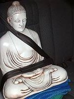 Buddha in the back seat - travelling to a weekly outreach class